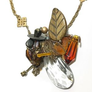 Jewelry - Abstract Necklace / One of a Kind / handmade